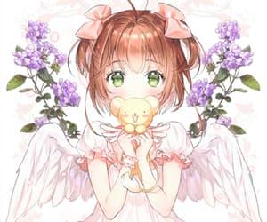 cerberus and sakura kinomoto image