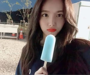 beauty, ice cream, and kpop image