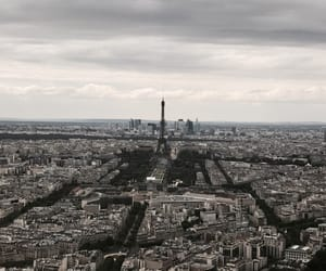 beauty, city, and eiffel image