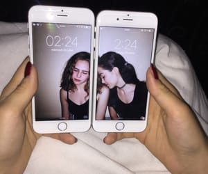 amis, iphones, and best friends image