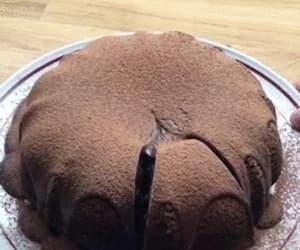 cake, chocolate, and gif image