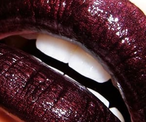 beauty, makeup, and burgundy image