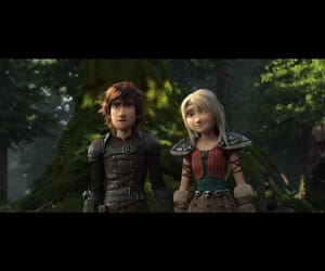 astrid, hiccstrid, and httyd3 image