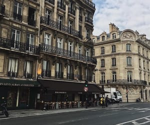 building, city, and france image