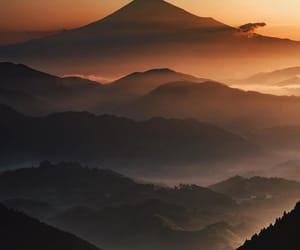 japan, landscape, and nature image