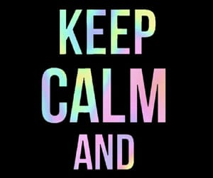 black, pastel, and keep calm image