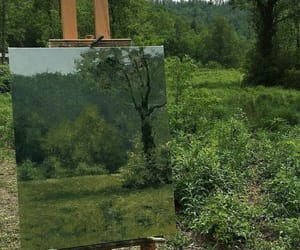 art, green, and draw image