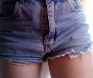 jean, short, and summer image