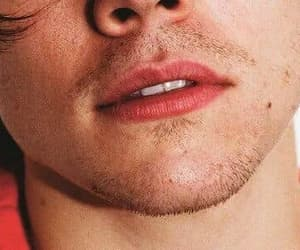 lips, mouth, and Harry Styles image