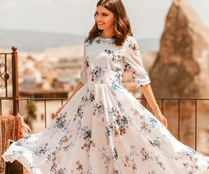 cappadocia, hot air balloons, and outfit of the day image