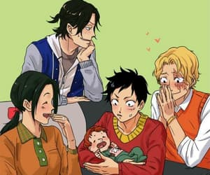 anime, baby, and brothers image