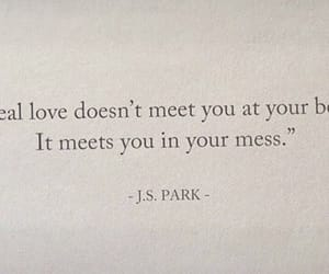 quotes, love, and mess image