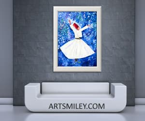 Oil Painting, decorative art, and wall art image