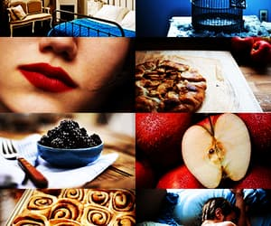 cinnamon rolls, moodboard, and girl image
