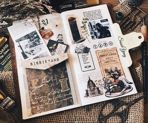 journal, book, and inspiration image