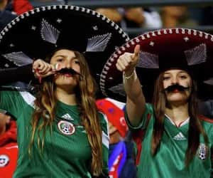 fans, mexico, and russia image