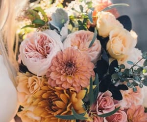 flowers, wedding, and nature image