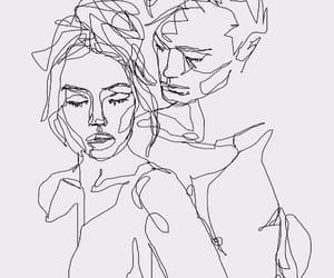 art, arte, and couple image