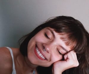 girl, smile, and aesthetic image