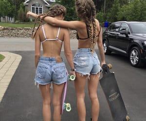 girls, best friend goals, and teens kép