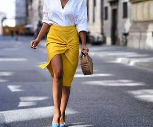 blouse, blue, and chic image