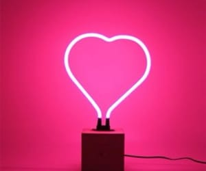 aesthetic, neon, and neon pink image