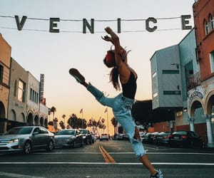 girl, dance, and venice image