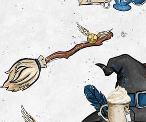 harry potter, hogwarts, and pattern image