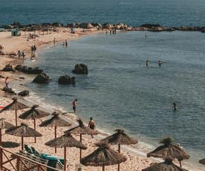 beach, holiday, and vacation image
