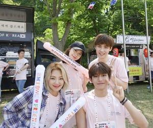 lucas, nct, and hyoyeon image