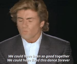 george michael, gif, and careless whisper image