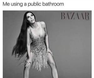 bathroom, me, and public image