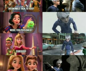 disney, dreamworks, and jack frost image