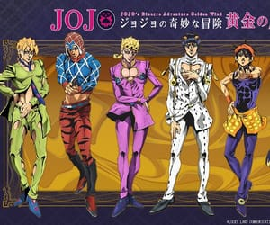 jjba, jojos bizarre adventure, and vento aureo image