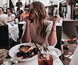 drink, fashion, and food image