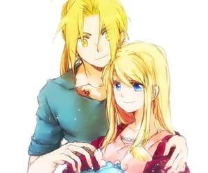 anime, couple, and Full Metal Alchemist image