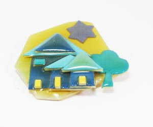 etsy, thejewelseeker, and house brooch image