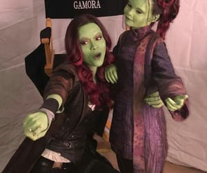 gamora, Marvel, and infinity war image