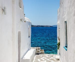 Greece, holiday, and Houses image