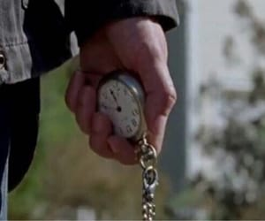 clock, maggie rhee, and pocket watch image