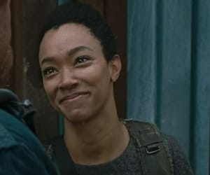 girl, smile, and the walking dead image