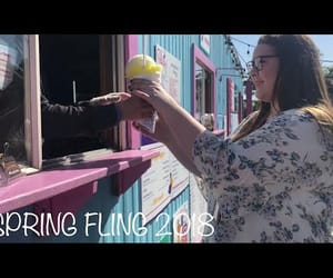 best friends, fling, and spring image