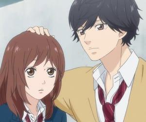 ao haru ride, anime, and yoshioka futaba image