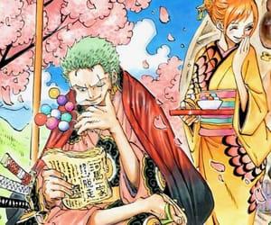 manga, one piece, and zoro image