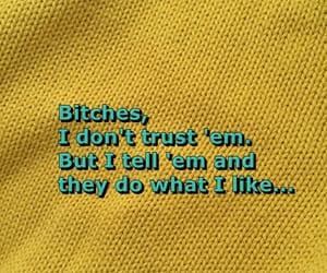blue, Lyrics, and trust image
