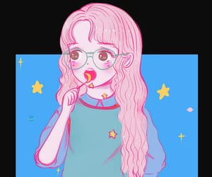 aesthetic, pastel, and cute image