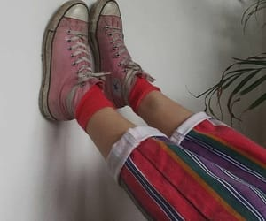 aesthetic, converse, and pink image