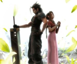 final fantasy VII, wallpapers, and zack y aerith image
