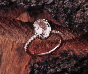 etsy, morganite, and morganite ring image
