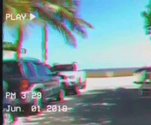 acid, aesthetic, and beach image